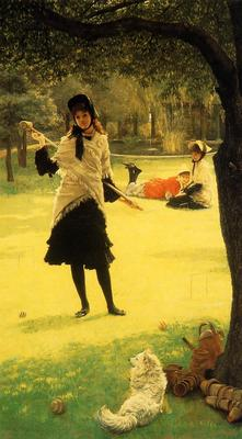 Tissot James Jacques Croquet