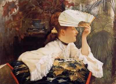 Tissot James Jacques The Fan
