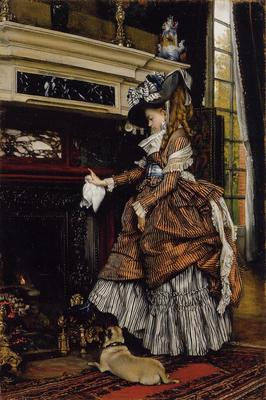 Tissot James Jacques The Fireplace