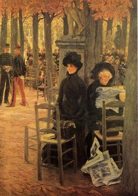 Tissot James Jacques Without a Dowry aka Sunday in the Luxembourg Gardens