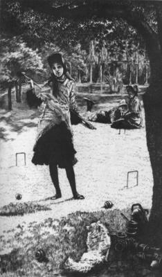 Tissot Le croquet
