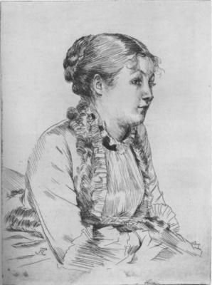 Tissot Portrait de femme