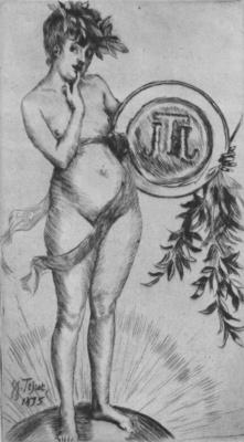 Tissot Premier frontispiece avec le monogramme
