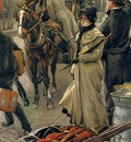 Tissot James Jacques Joseph The departure Platform Victoria Station
