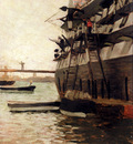 Tissot James The Hull Of A Battle Ship