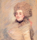 Tissot Portrait of an Actress in 18thC Dress