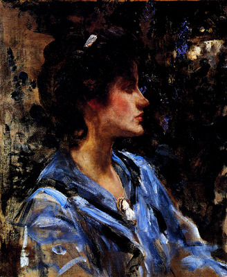 Shannon Sir James Jebusa Young Woman In Blue