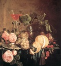 HEEM Jan Davidsz de Still Life With Flowers And Fruit