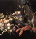 HEEM Jan Davidsz de Still Life With Fruit And Lobster
