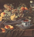 FYT Jan Still Life With Fruits And Parrot
