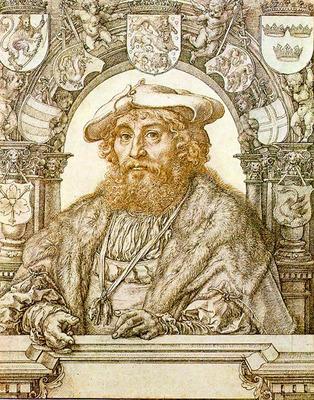GOSSAERT Jan Portrait of Christian II King of Denmark