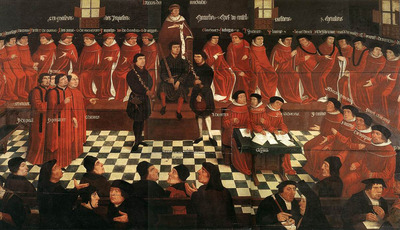 GOSSAERT Jan The High Council