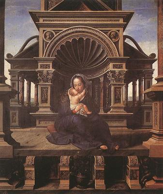 GOSSAERT Jan Virgin of Louvain