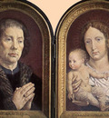 GOSSAERT Jan Diptych of Jean Carondelet
