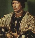 GOSSAERT Jan Portrait of Baudouin of Burgundy