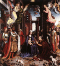 GOSSAERT Jan The adoration of the Kings