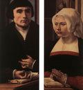 GOSSAERT Jan Wings of a Triptych