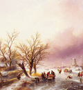 Spohler Jan A Winter Landscape