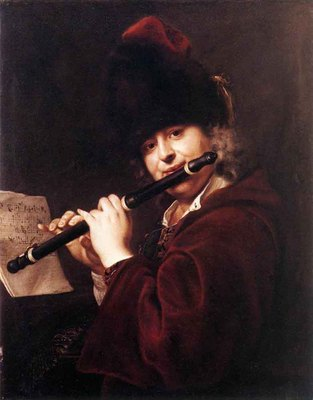 KUPECKY Jan Portrait Of The Court Musician Josef Lemberger