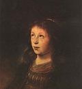 LIEVENS Jan Portrait Of A Girl