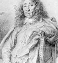 LIEVENS Jan Portrait Of Poet Jan Vos