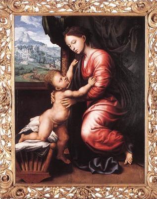 HEMESSEN Jan Sanders van Virgin And Child