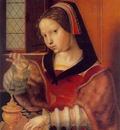 HEMESSEN Jan Sanders van Woman Weighing Gold
