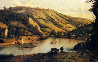 Siberechts Jan An Extensive River Landscape Probably Derbyshire