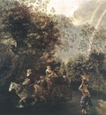 SIBERECHTS Jan Crossing A Creek