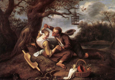 STEEN Jan Merry Couple