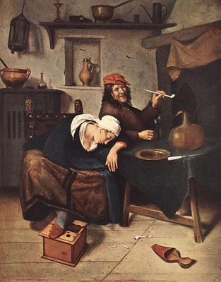 STEEN Jan The Drinker