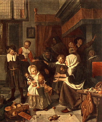 STEEN Jan The Feast Of St Nicholas