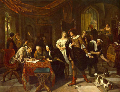 STEEN Jan The Marriage
