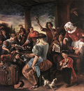 STEEN Jan A Merry Party