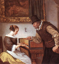STEEN Jan The harpsichord Lesson