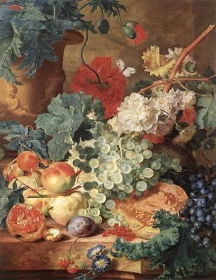 HUYSUM Jan Van Fruit Still Life