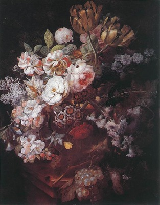 HUYSUM Jan Van Vase of Flowers