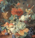 HUYSUM Jan Van Fruit and Flowers