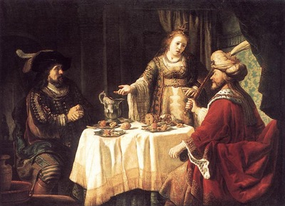VICTORS Jan The Banquet Of Esther And Ahasuerus