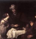 VICTORS Jan Esther And Haman Before Ahasuerus