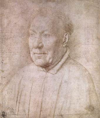 Eyck Jan van Portrait of Cardinal Albergati