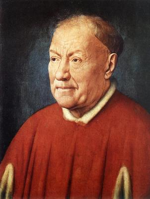 Eyck Jan van Portrait of Cardinal Niccolo Albergati