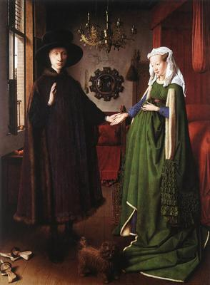 Eyck Jan van Portrait of Giovanni Arnolfini and his Wife