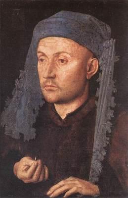 Eyck Jan van Portrait of a Goldsmith Man with Ring