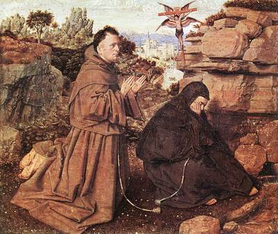 Eyck Jan van Stigmatization of St Francis