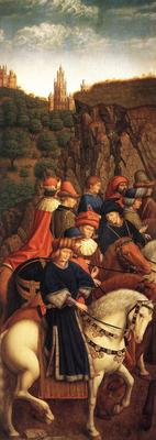 Eyck Jan van The Ghent Altarpiece The Just Judges
