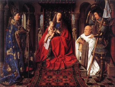 Eyck Jan van The Madonna with Canon van der Paele