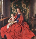 Eyck Jan van Madonna with the Child Reading