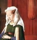 eyck jan van portrait of giovanni arnolfini and his wife detail