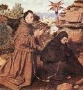 Eyck Jan van Stigmatization of St Francis